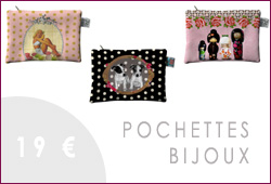 pochettes bijoux bolas de grossesse