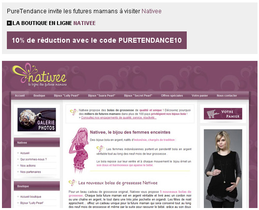 boutique nativee bolas